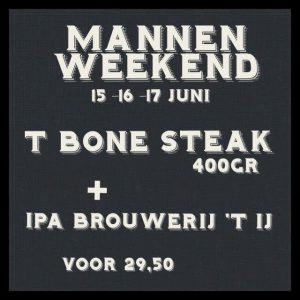 mannen weekend